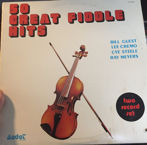 50 Great Fiddle Hits - 2 LPS (AUDAT RECORDS) Maritime Fiddle (vinyl)