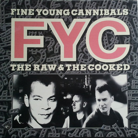 Fine Young Cannibals ‎– The Raw & The Cooked -1988 - Synth-pop (vinyl)