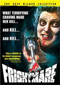 Frightmare 1974 horror DVD