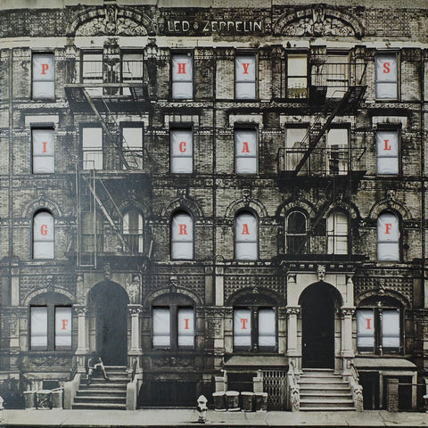 Led Zeppelin- Physical Graffiti -2 Lps -1975- Classic Rock (vinyl) Mint !