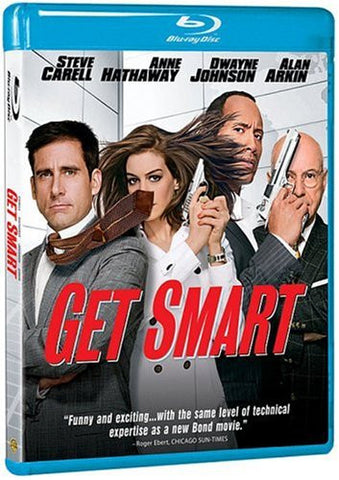 Get Smart - Steve Carell 2008) [Blu-ray] Mint Used