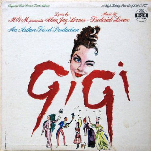 """Gigi"" - Original Cast Soundtrack Album - 1958 - Score, Musical, Easy Listening ( Rare Vinyl) Mint!"
