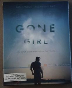 Gone Girl (with Amazing Amy Book) [Blu-ray] (Bilingual) Mint Used