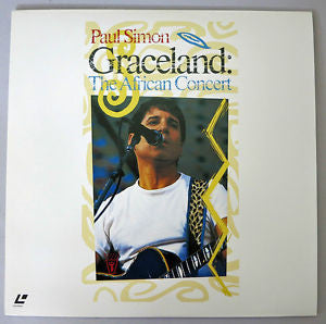 Paul Simon - Graceland the African Concert ( Laser Disc)