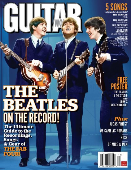 Guitar World - the Beatles on the Record - 2011 - (Used Magazine)