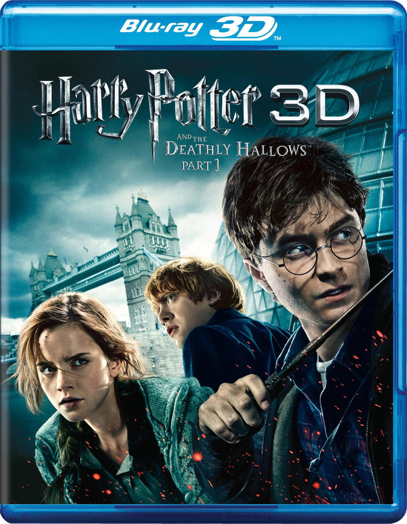 Harry Potter and the Deathly Hallows, Part 1 [Blu-ray 3D + Blu-ray] (Bilingual) Mint used