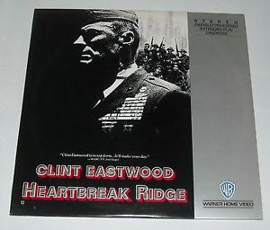 Heartbreak Ridge - Clint Eastwood - Laserdisc - 2 Disc Set