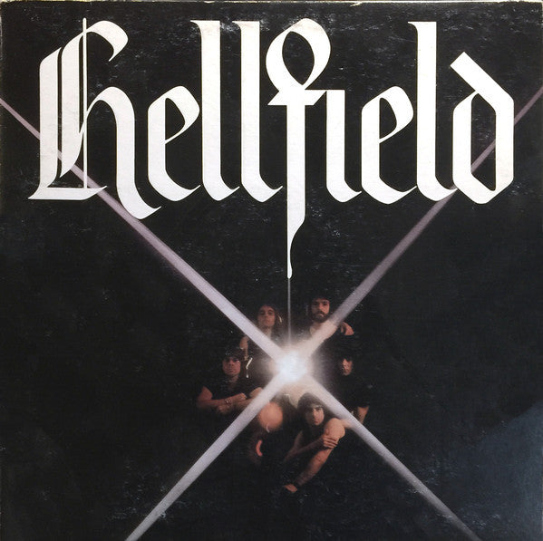 Hellfield ‎– Hellfield- 1978 Rock (Clearance vinyl) NO COVER