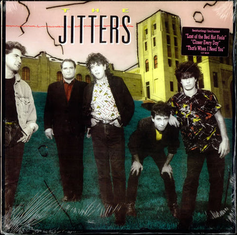 Jitters ‎– The Jitters -1987-  Alternative Rock (vinyl)