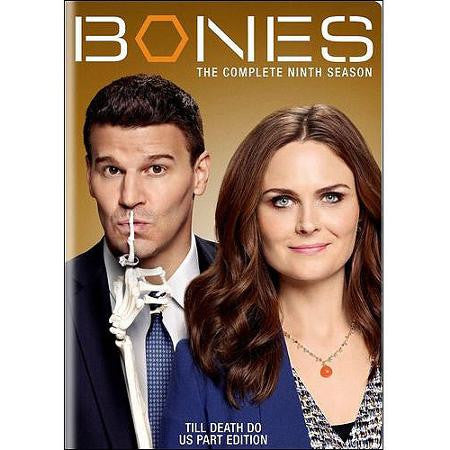 Bones: The Complete Ninth Season Dvd Set - Mint Used