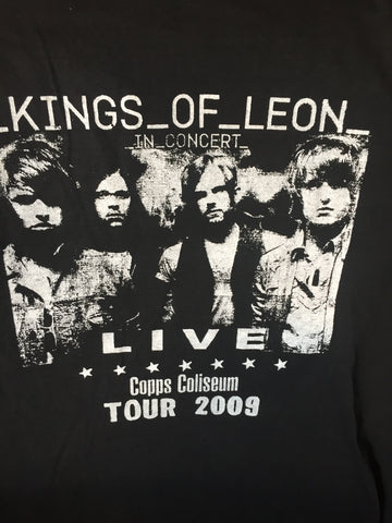 Kings of Leon- Live at Copps Coliseum Tour 2009 - (white) L - White T Shirt