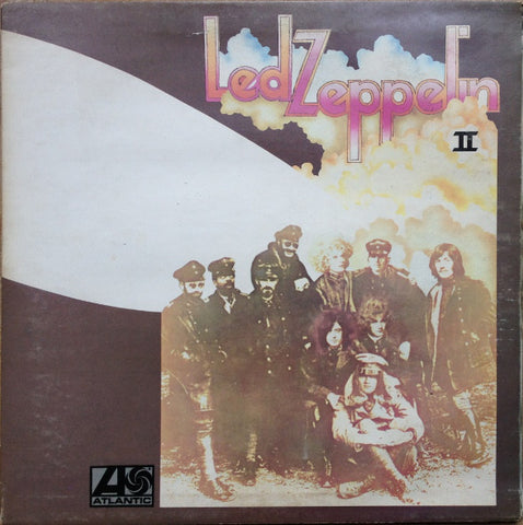Led Zeppelin ‎– Led Zeppelin II - 1969- Blues Rock, Classic Rock (UK Vinyl)