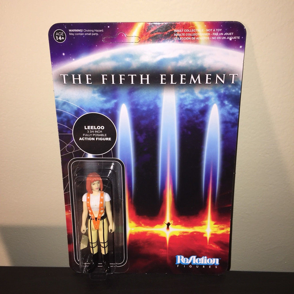 "New Unpunched The Fifth Element Leeloo Action Figure 3.75"" Milla Jovovich"