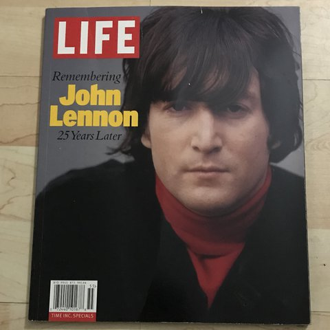 John Lennon: 25 Years Later Hardcover – Oct 5 2005 (used magazine)