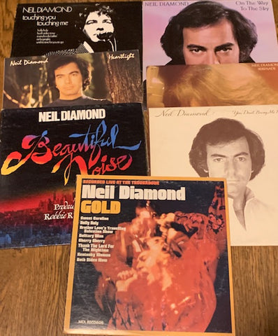 LOT SALE # 14 - NEIL DIAMOND ( 5 albums ) as pictured