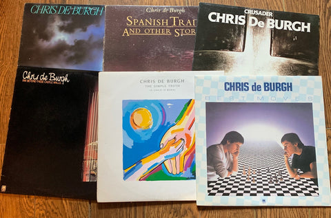 LOT SALE # 5 - CHRIS DeBURGH ( 6  albums )