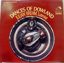 Julian Bream - Dances of Dowland -1968 - Classical (vinyl)