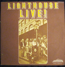Lighthouse - Live - 2 Lps - Prog Rock  (clearance vinyl) Overstocked