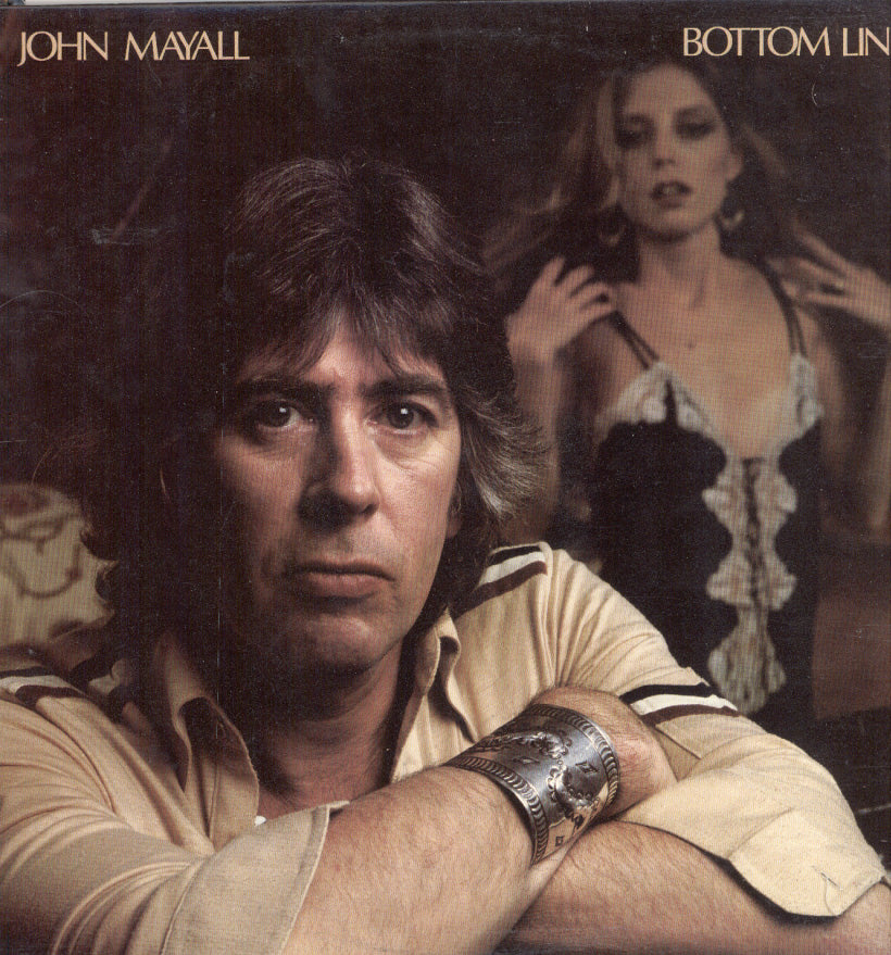 John Mayall - Bottom Line-1979- Blues (vinyl)