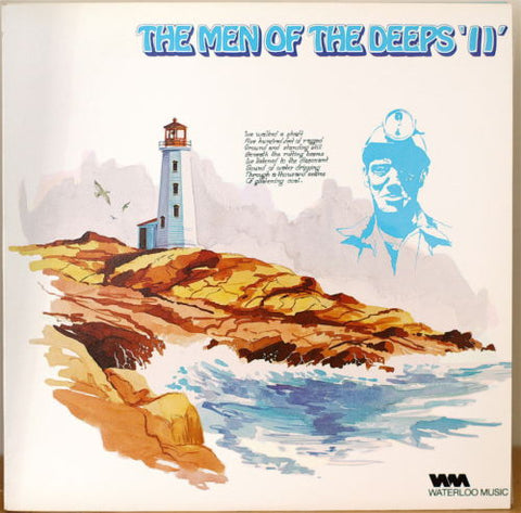 Men Of The Deeps,The ‎– The Men Of The Deeps II -1975 - Maritime Folk, World, & Country 1980 ( vinyl)