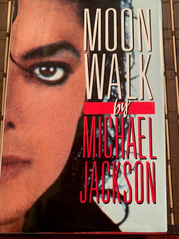 Moonwalk Hardcover – Feb 1 1988 by Michael Jackson- 283 page Hardcover (w/ jacket)