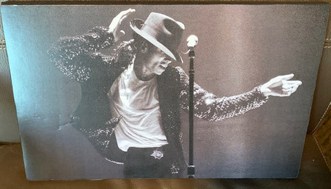 "Michael Jackson - 16 X 10 "" Canvas wrapped photo"