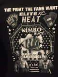 Kimbo VS Shamrock Heat - Oct 4th , 2008 - at Bank Atlantic Centre - Sunrise Florida ( Size XL ) T SHIRT