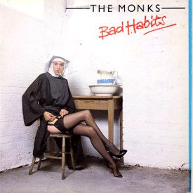 Monks ,the ‎– Bad Habits - 1979-  New Wave, Power Pop (clearance vinyl) Overstocked
