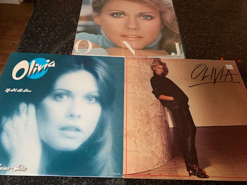 LOT SALE # 13 -OLIVIA NEWTON JOHN - 3 albums
