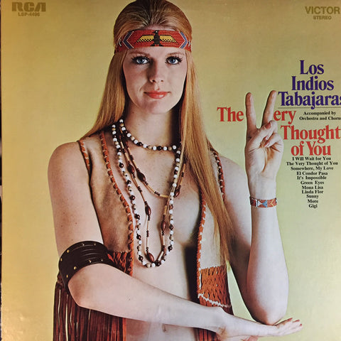 Los Indios Tabajaras ‎– The Very Thought Of You - 1971-Latin, Folk, World, & Country (Vinyl)