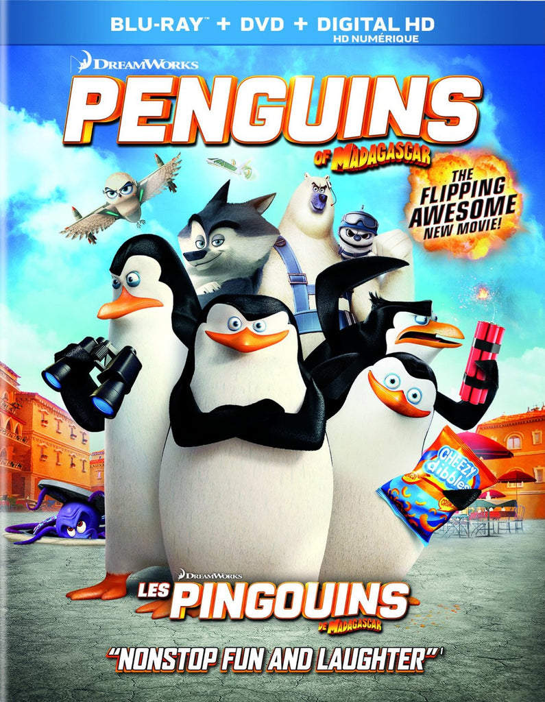 Penguins of Madagascar (Bilingual) [Blu-ray] Used