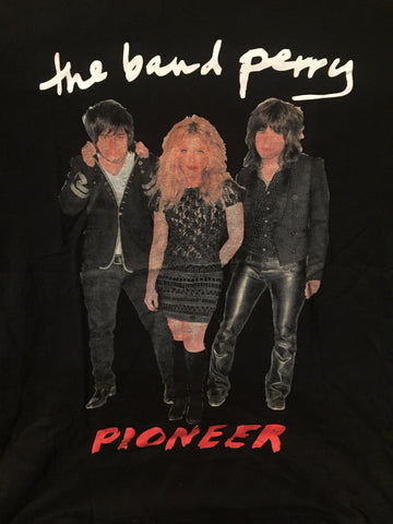 Band Perry- We Are Pioneers Tour 2013-14  (M) T Shirt