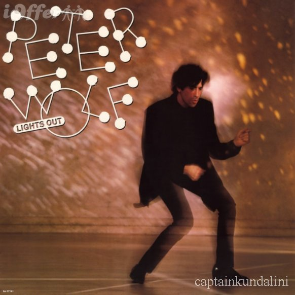 Peter Wolf - Lights Out - 1984 Rock Blues (clearance vinyl) Overstocked