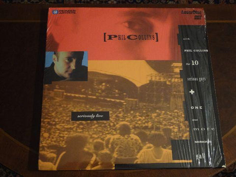Phil Collins - Seriously Live Laserdisc - 2 Disc