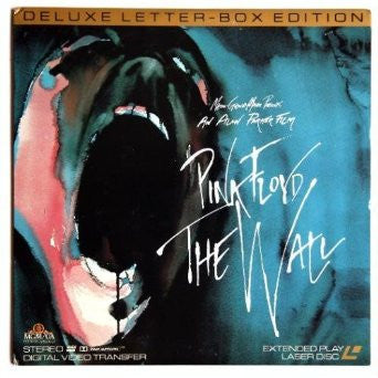 Pink Floyd - The WALL by Roger Waters Alan Parker Music Letter-Box Laserdisc Edition