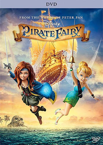 The Pirate Fairy (Bilingual) DVD ( Near Mint )