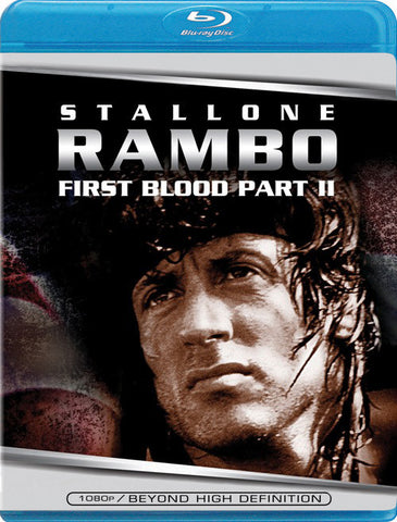 Rambo: First Blood Part 2 [Blu-ray] Mint Used