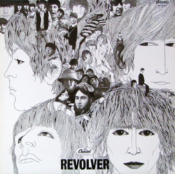 Beatles, the - Revolver  T2576 Capitol (rainbow label ) Can Release