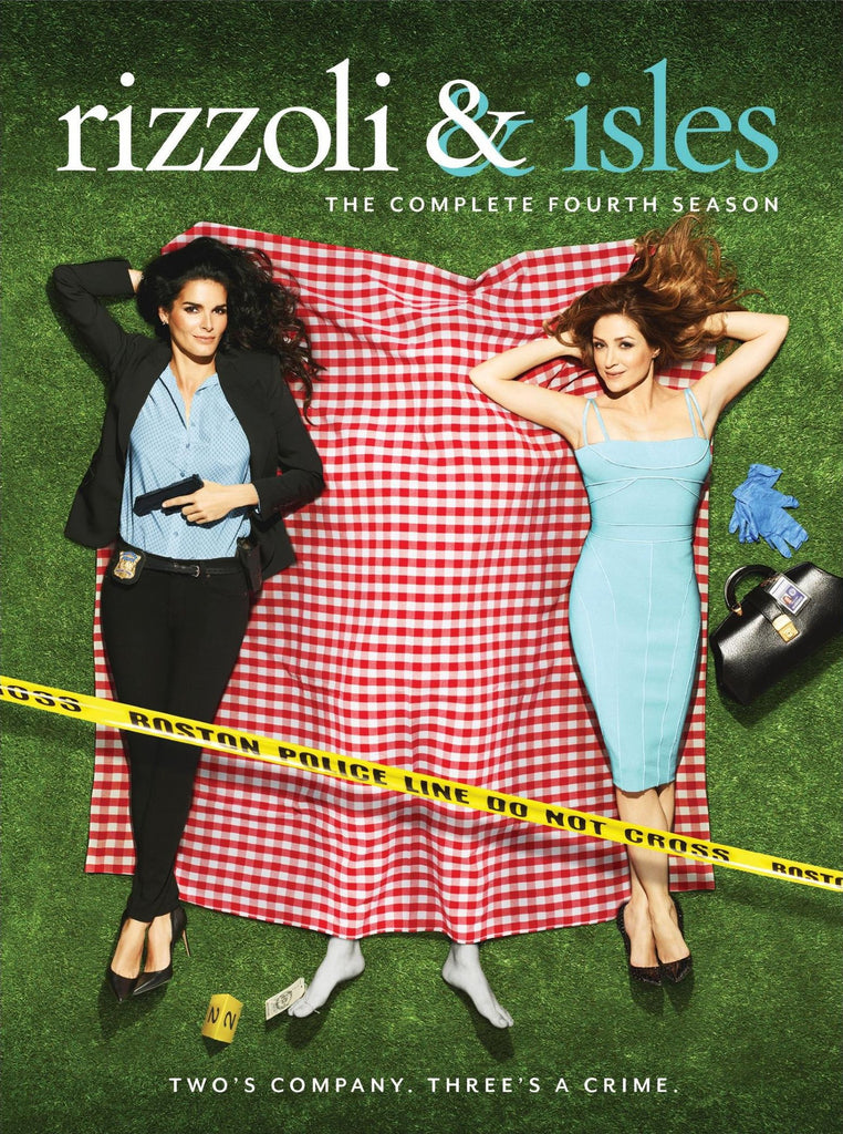 Rizzoli & Isles: Season 4 DVD - New sealed