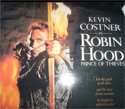 Robin Hood - Prince of Thieves - 2 Disc Laser Disc
