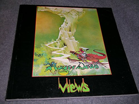 Roger Dean Views - Rare 2nd printing Softcover Book ( Now a rare book to find ) Yes Covers