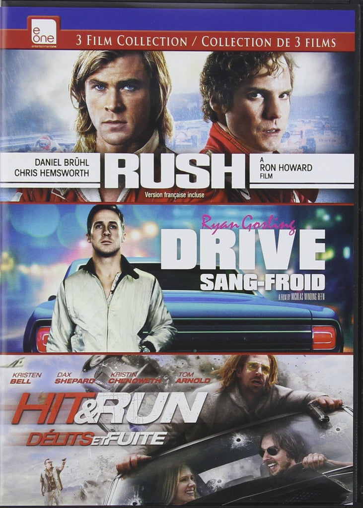 Rush / Drive / Hit and Run DVD Triple Feature (Bilingual)