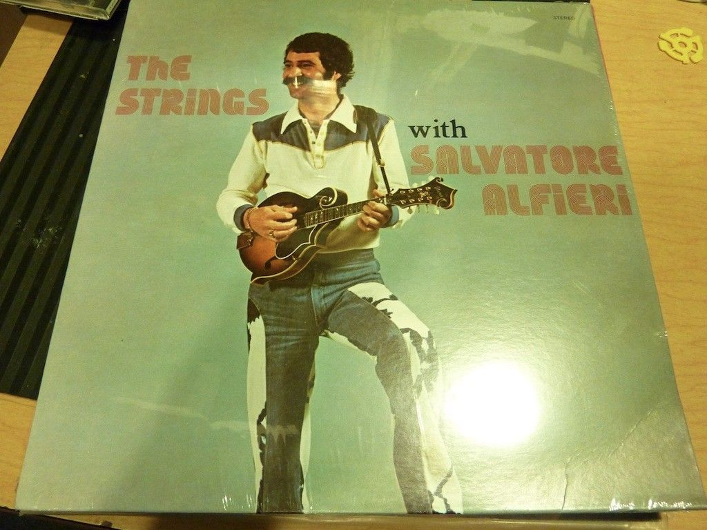 Salvatore Alfieri ‎– The Strings With Salvatore Alfieri (Rare Canadian Folk Vinyl)