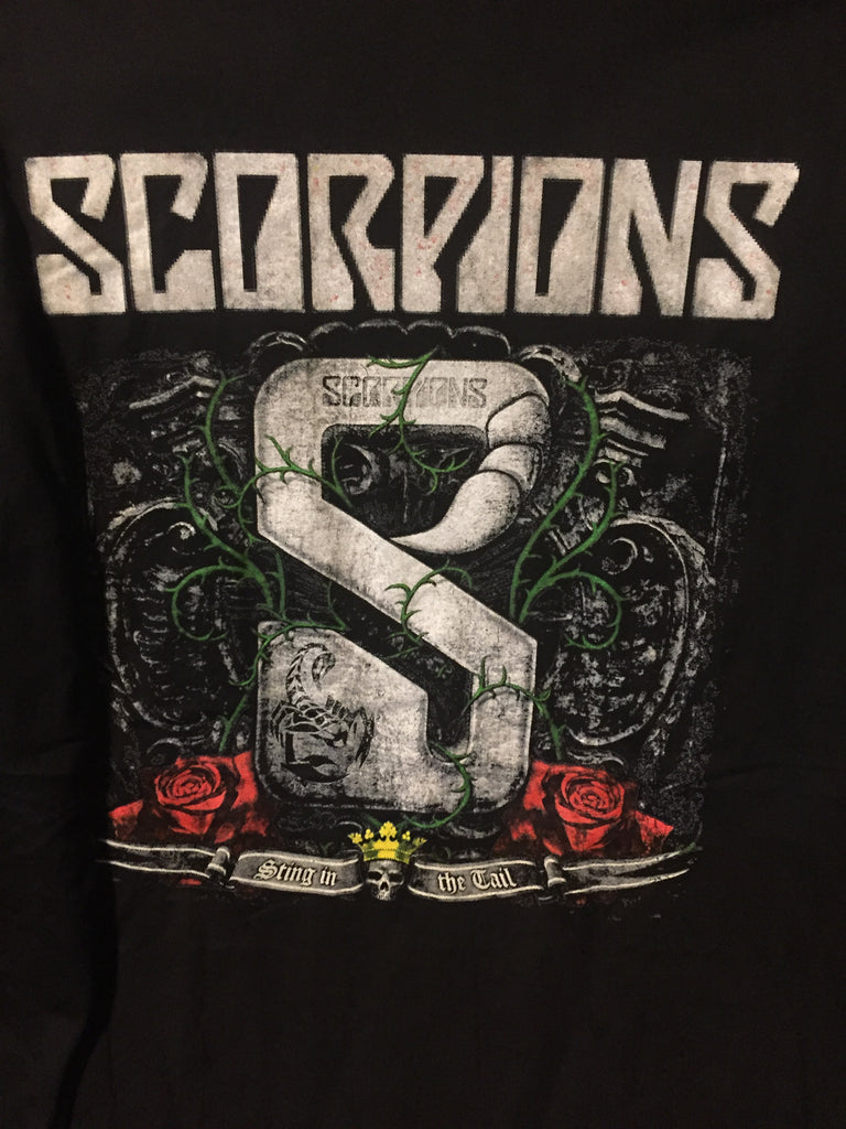 The Scorpions Farewell Tour / w Cinderella (M) BLACK T SHIRT