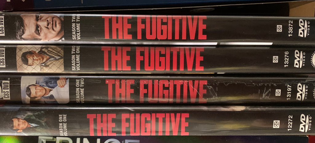 THE FUGITIVE - SEASON 1 - VOL 1 & 2 / SEASON 2 - VOL 1 & 2 dvd sets