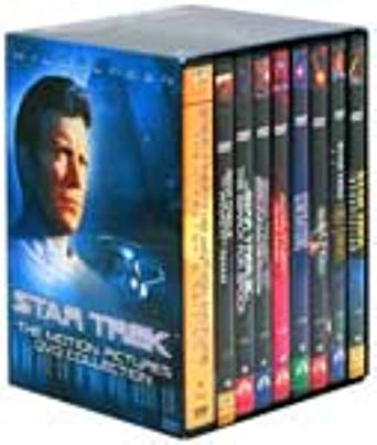 Star Trek: Motion Pictures Collection [DVD] 9 DVD Set