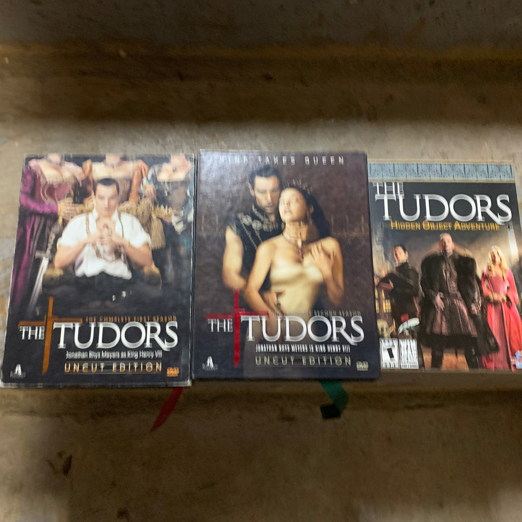 THE TUDORS - SEASON 1 & 2 & HIDDEN OBJECT ADVENTURE (DVDS)