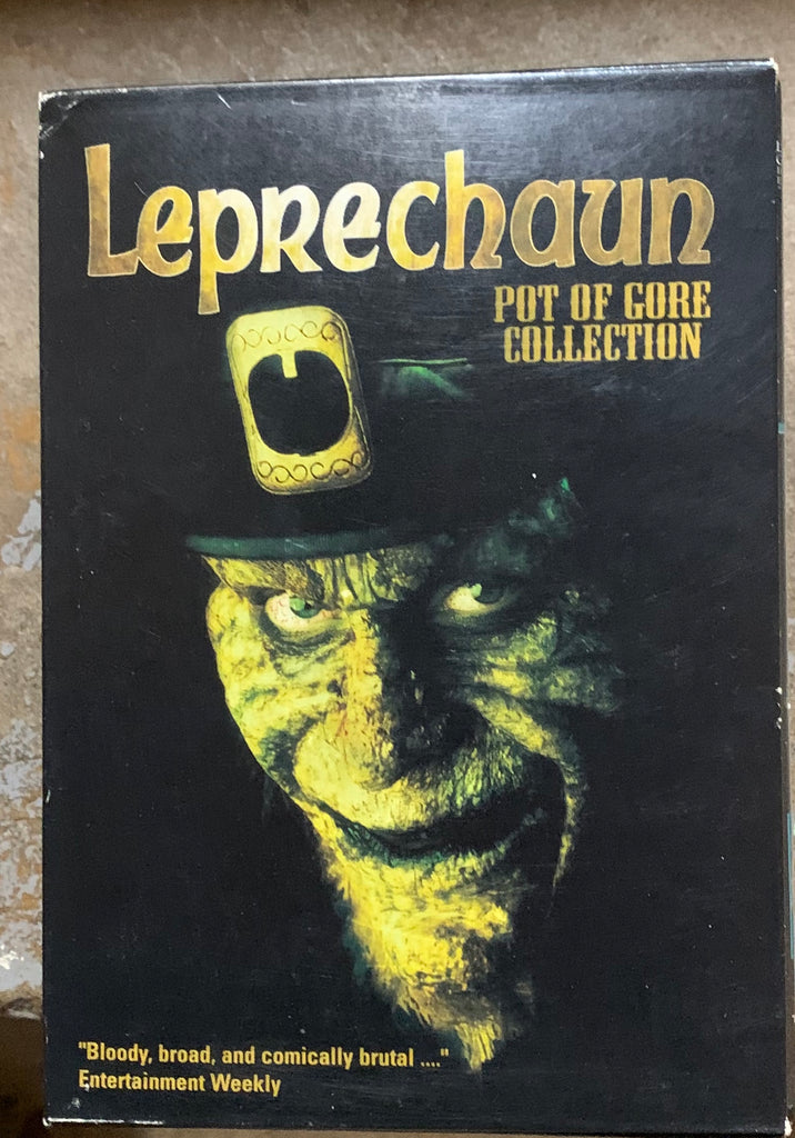 "LEPRECHAUN ""POT OF GORE"" COLLECTION DVD SET"