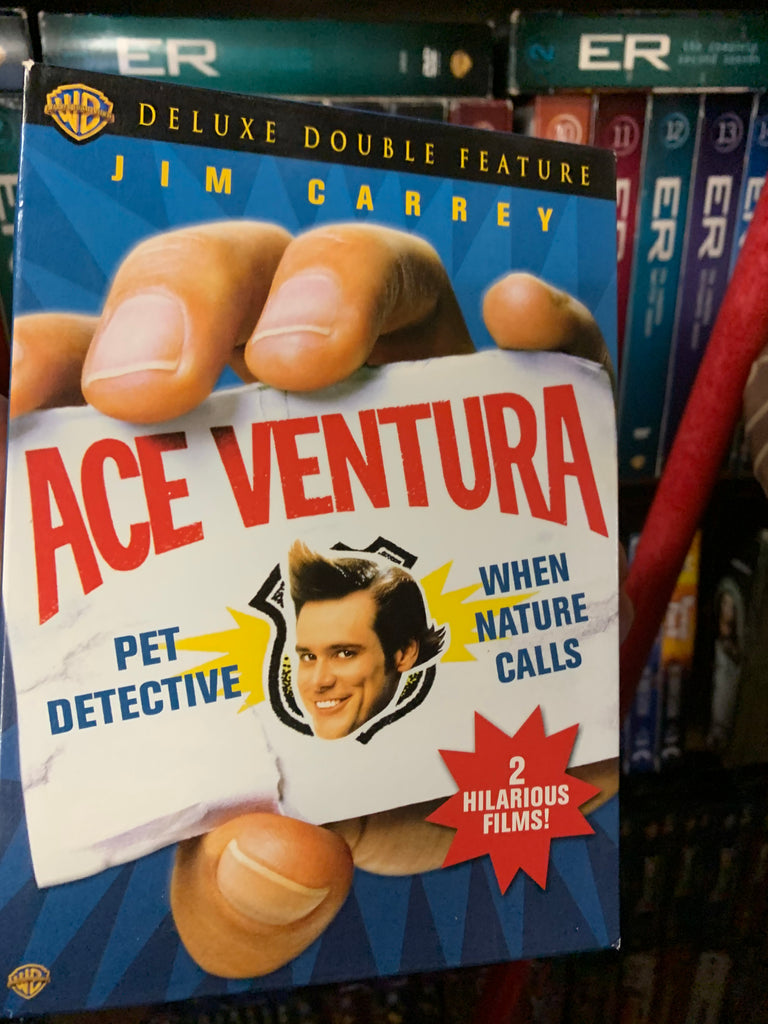 ACE VENTURA DOUBLE FEATURE DVD SET