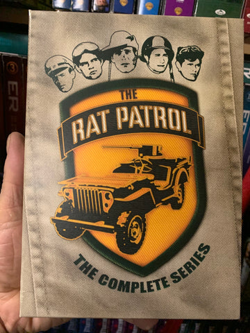 THE RAT PATROL - COMPLETE SERIES DVD SET In great shape